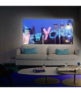 Acheter en ligne Tableaux rétro-éclairés: modèle NEW YORK.