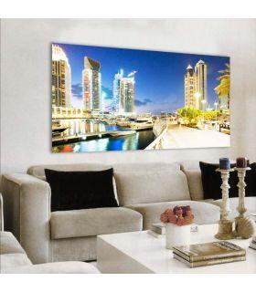 Acheter en ligne Tableaux rétro-éclairés: modèle DUBAI.
