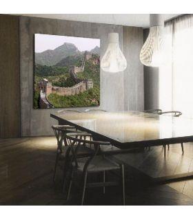 Acheter en ligne Tableaux rétro-éclairés: modèle MUR DE LE CHINE.