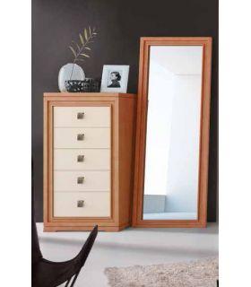 Acheter en ligne Chiffonnier en bois : Collection BURDEOS RYS