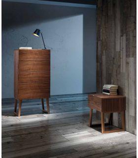 Acheter en ligne Meuble chiffonnier en bois : Modèle ICELAND
