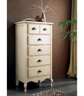 Acheter en ligne Meuble chiffonnier en bois de pin : Modèle VERSALLES