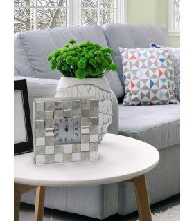 Acheter en ligne Horloge de table en verre de miroir : Modèle NACAR