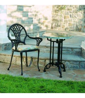 Acheter en ligne Pieds de table en fonte d'aluminium: modèle OOSTENDE.