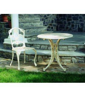 Acheter en ligne Pieds de table en fonte d'aluminium: modèle ANGLET.