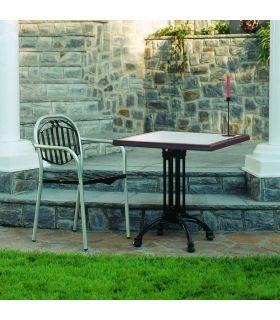 Acheter en ligne Pieds de table en fonte d'aluminium: modèle DESSI.