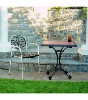 Acheter en ligne Pieds de table en fonte d'aluminium: modèle PORTO.