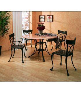 Acheter en ligne Pieds de table en fonte d'aluminium: modèle NIMES SPECIAL.