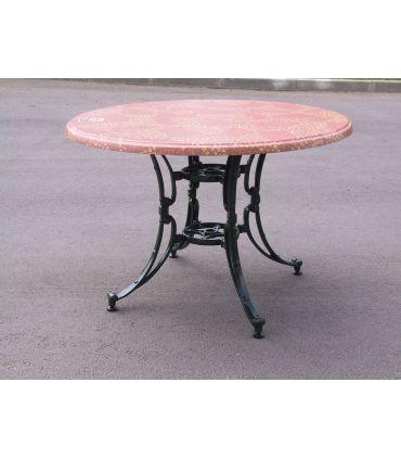 Pie mesa de fundición aluminio Mod.TOLEDO ESPECIAL.