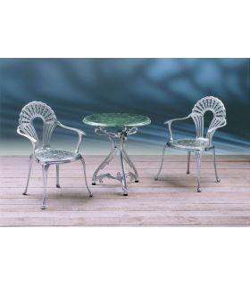 Acheter en ligne Pieds de table en fonte d'aluminium: modèle ARTNOVO.