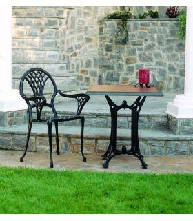 Acheter en ligne Pieds de table en fonte d'aluminium: modèle DECO-4.