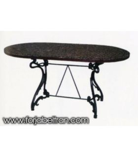 Acheter en ligne Pieds de table en fonte d'aluminium: modèle ARTNOVO (rectangulaire)