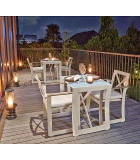 Acheter en ligne Table à manger pour terrasse et jardin : Colelction RHONE