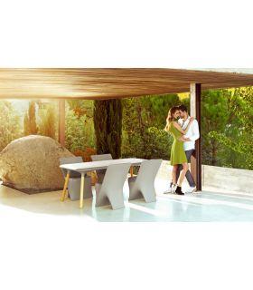 Acheter en ligne Table à manger design pour terrasse et jardin : Collection SLOO