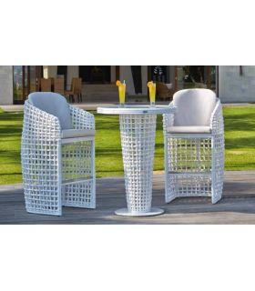 Acheter en ligne Table haute pour terrasse et jardin : Collection DYNASTY