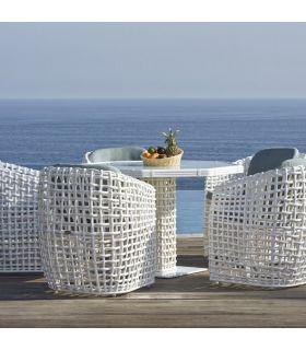 Acheter en ligne Table à manger octogonale pour terrasse et jardin : Collection DYNASTY