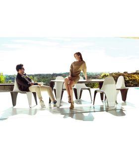 Acheter en ligne Table à manger design en résine : Collection F3