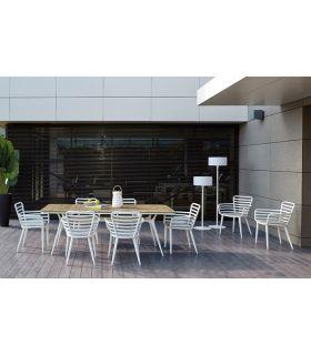 Acheter en ligne Table pour terrasse et jardin : Modèle RAUNG