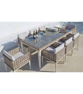 Acheter en ligne Table à manger pour terrasse et jardin : Collection HEART