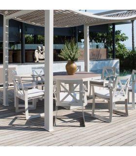Acheter en ligne Table octogonale pour extérieur : Collection RHONE