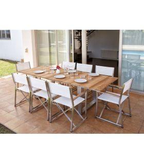 Acheter en ligne Table à manger pour l'extérieur : Modèle MILANO