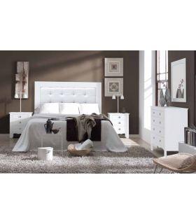 Acheter en ligne Têtes de lit en Bois Rembourrées: Modèle NIMES-2