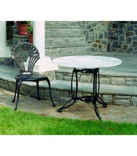 Acheter en ligne Chaises et fauteuils en fonte d'aluminium: modèle PALMA.