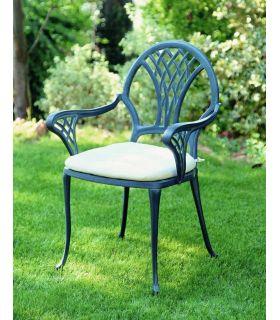 Acheter en ligne Chaises et fauteuils en fonte d'aluminium: modèle TIJUANA.