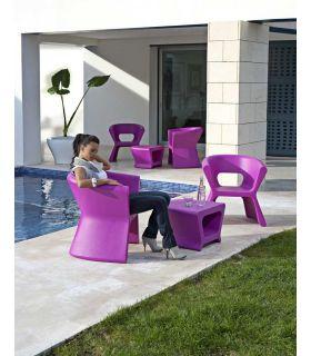 Acheter en ligne Fauteuil design en résine : Collection PAL