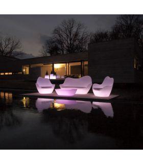 Acheter en ligne Fauteuil design d'extérieur en résine : Collection SABINAS