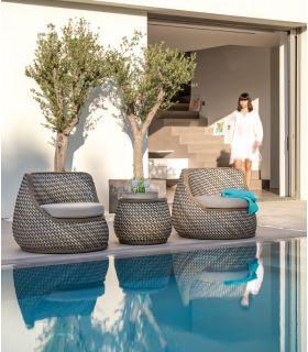 Acheter en ligne Fauteuil pour terrasse et jardin : Collection CASA