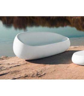 Acheter en ligne Canapé design pour terrasse et jardin : Collection STONE