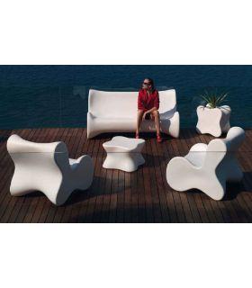 Acheter en ligne Canapé design pour terrasse et jardin : Collection DOUX