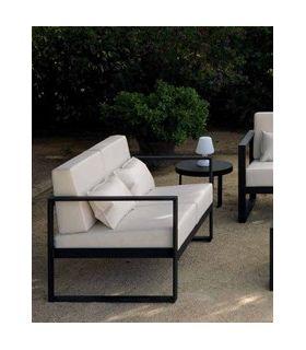Acheter en ligne Canapé avec 2 places pour terrasse et jardin : Collection MARBELLA