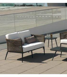 Acheter en ligne Canapé d'extérieur avec 2 places : Collection ROMA