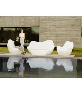 Acheter en ligne Canapé design pour terrasse et jardin : Collection SABINAS