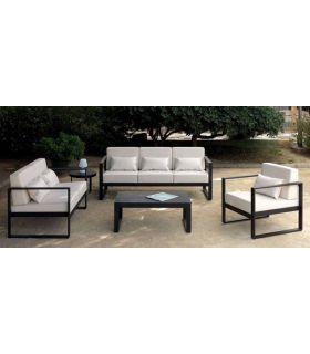 Acheter en ligne Canapé avec 3 places pour terrasse et jardin : Collection MARBELLA