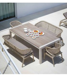 Acheter en ligne Banc pour terrasse et jardin : Collection JOURNEY