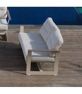 Acheter en ligne Canapé 2 places pour terrasse et jardin : Collection RHONE
