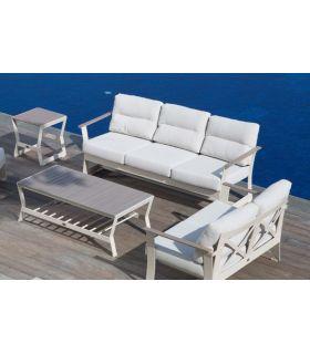 Acheter en ligne Canapé 3 places pour terrasse et jardin : Collection RHONE