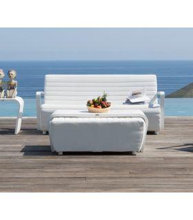 Acheter en ligne Canapé avec 3 places pour terrasse et jardin : Collection AXIS
