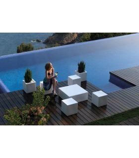 Acheter en ligne Table basse design en résine : Collection QUADRAT