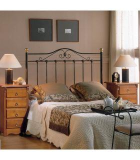 Acheter en ligne Tête de lit en fer forgé : Modèle BRETAGNE