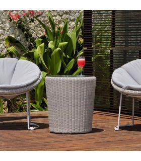 Acheter en ligne Fauteuil en rotin pour terrasse et jardin : Modèle LUNA