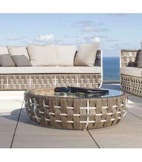 Acheter en ligne Table basse pour terrasse et jardin : Collection STRIPS