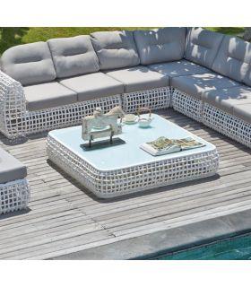 Acheter en ligne Table basse pour terrasse et jardin : Collection DYNASTY