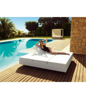 Acheter en ligne Chaise longue design DAYBED : Collection VELA