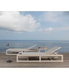 Acheter en ligne Lit de soleil pour terrasse et jardin : Collection RHONE