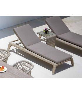 Acheter en ligne Lit de soleil pour terrasse et jardin : Collection JOURNEY
