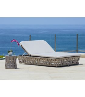 Acheter en ligne Double Lit de soleil pour extérieur : Collection STRIPS